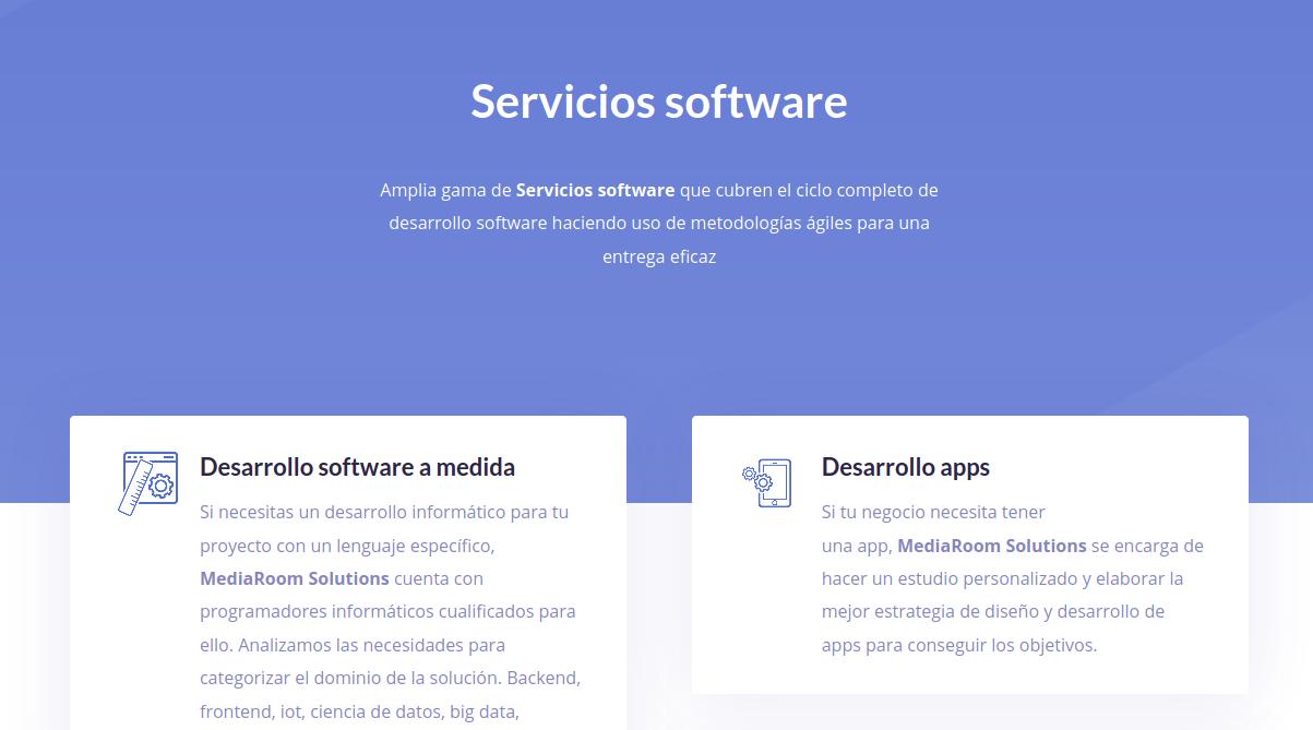 servicios software